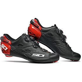 Sidi Shot Schoenen Heren, matt black/red